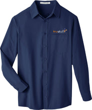 Load image into Gallery viewer, UltraClub Men's Bradley Performance Woven Shirt