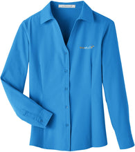 Load image into Gallery viewer, UltraClub Ladies' Bradley Performance Woven Shirt