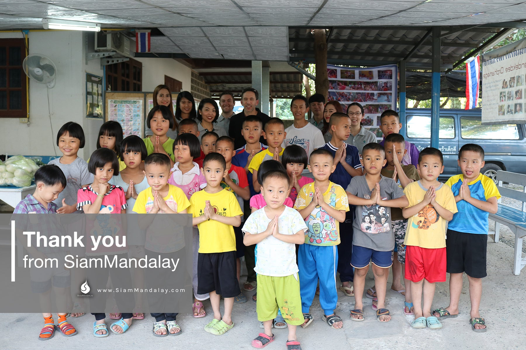 Thank You from SiamMandalay