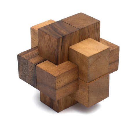 Burr Puzzle from SiamMandalay | Wooden Toy Burr Puzzles