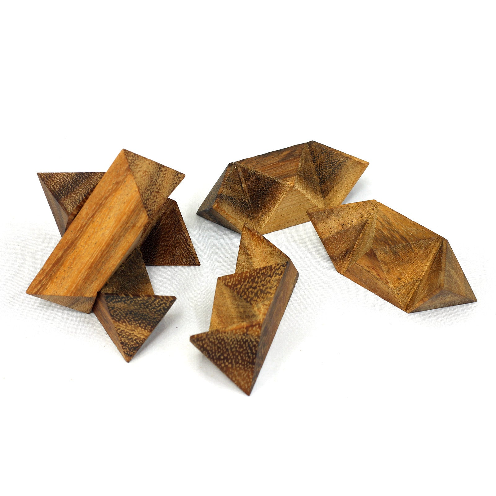 Star Puzzle Solution | SiamMandalay Wooden Star Solution