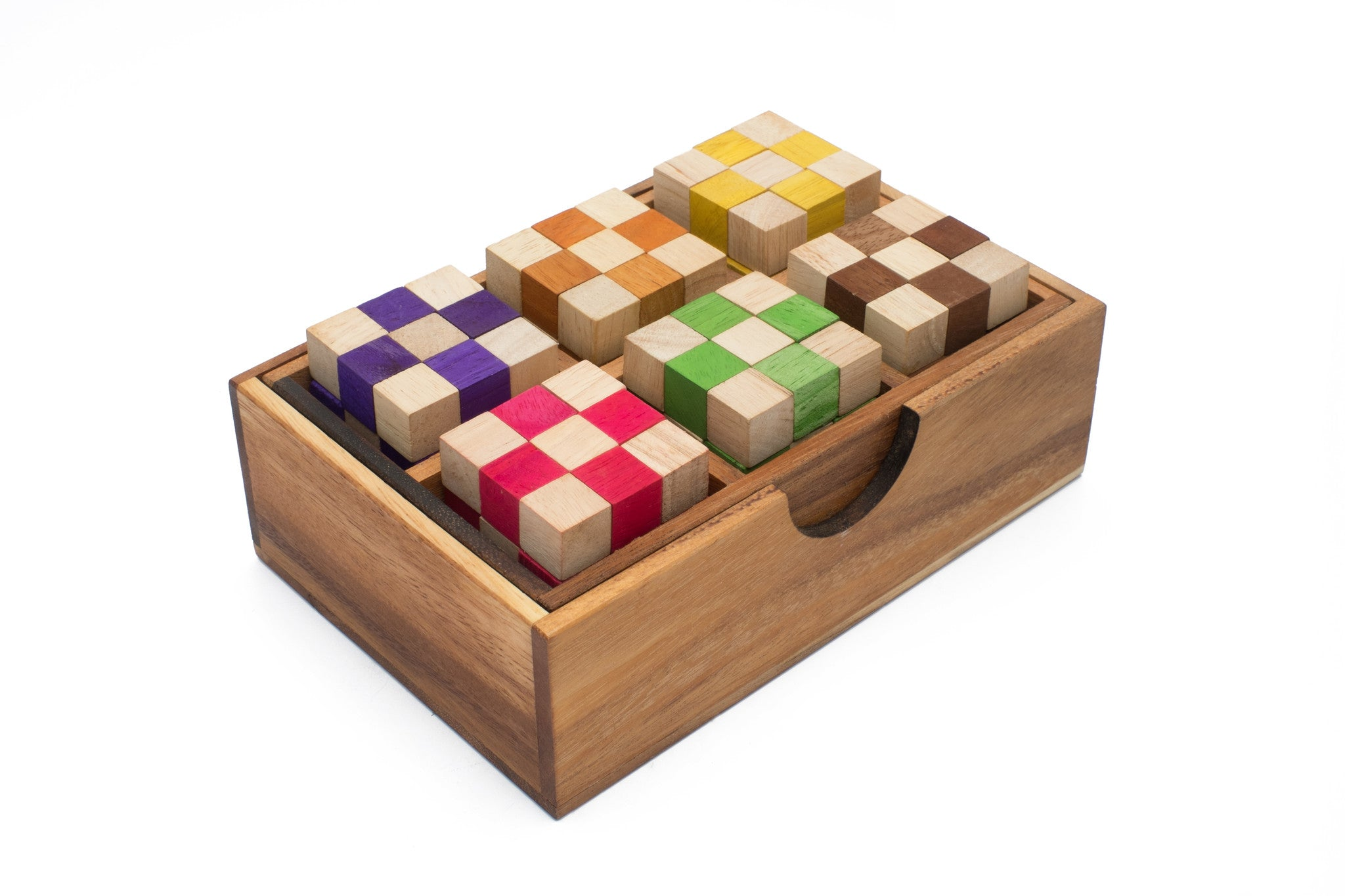 Serpent  Cube Set of 6