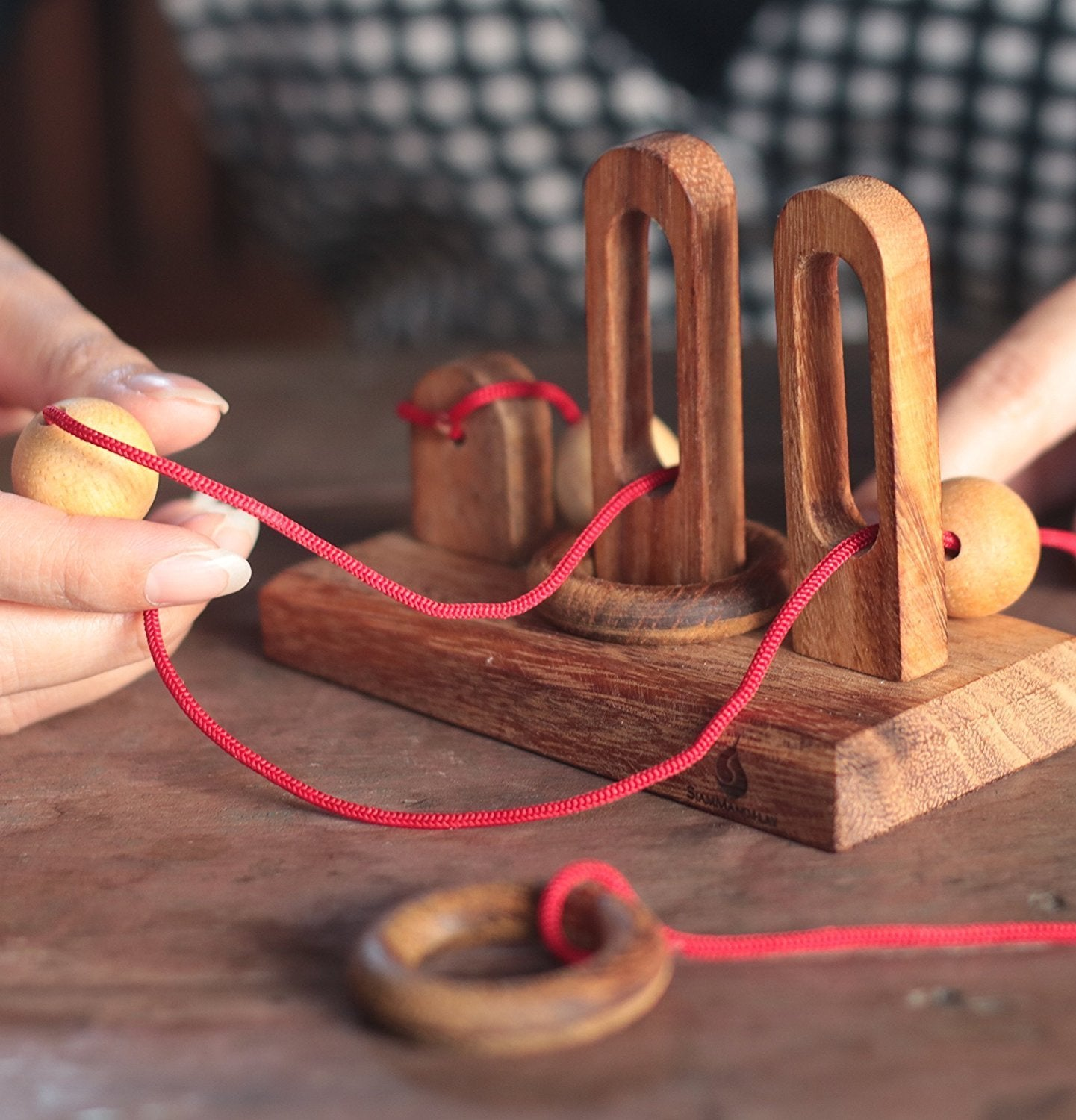 Disentanglement Puzzles | Wooden Rope and Ring Game Solutions