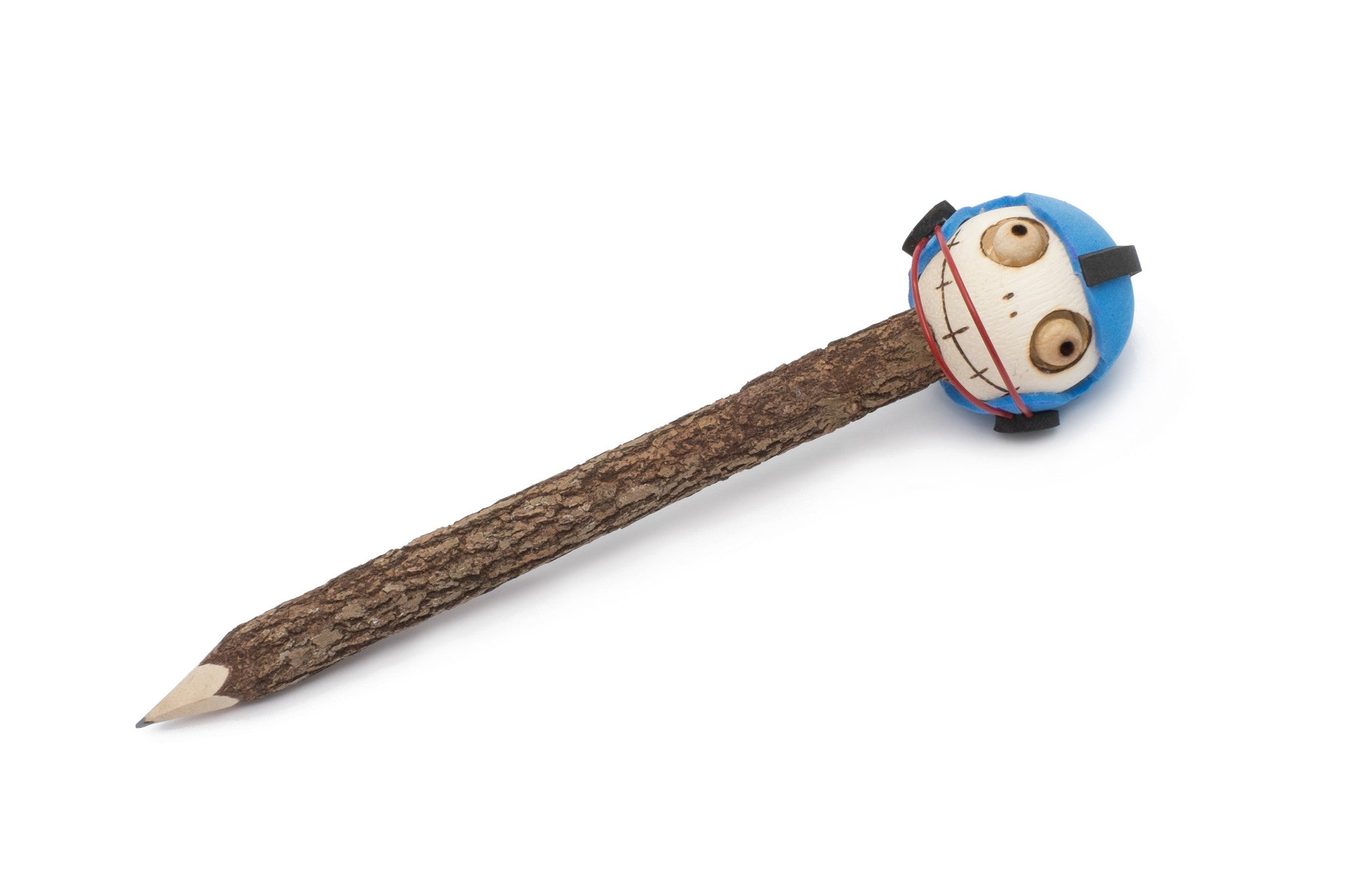 Wooden Pencil with Crazy Head - Football