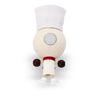 Crazy Head Magnet Chef