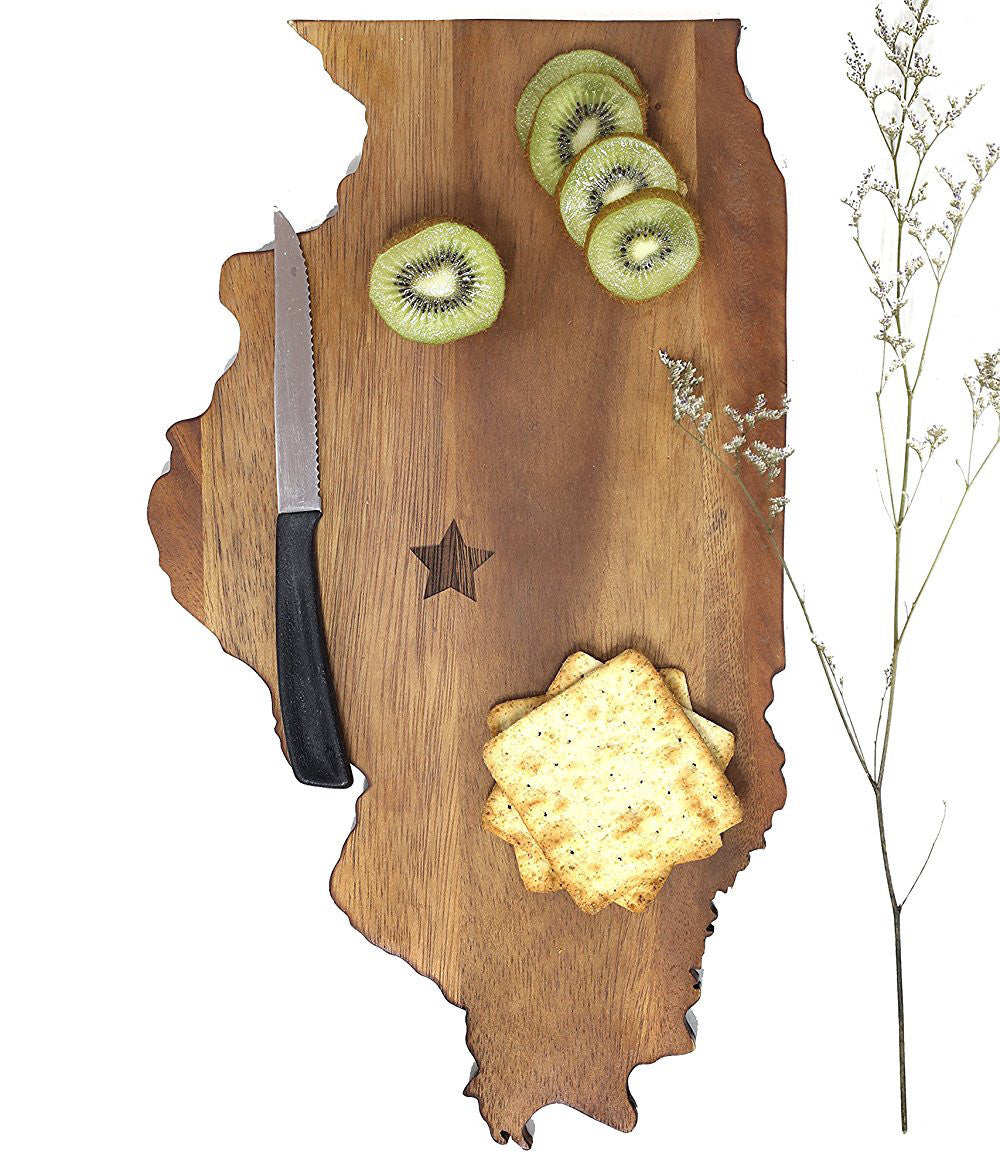 Illinois Cutting Board