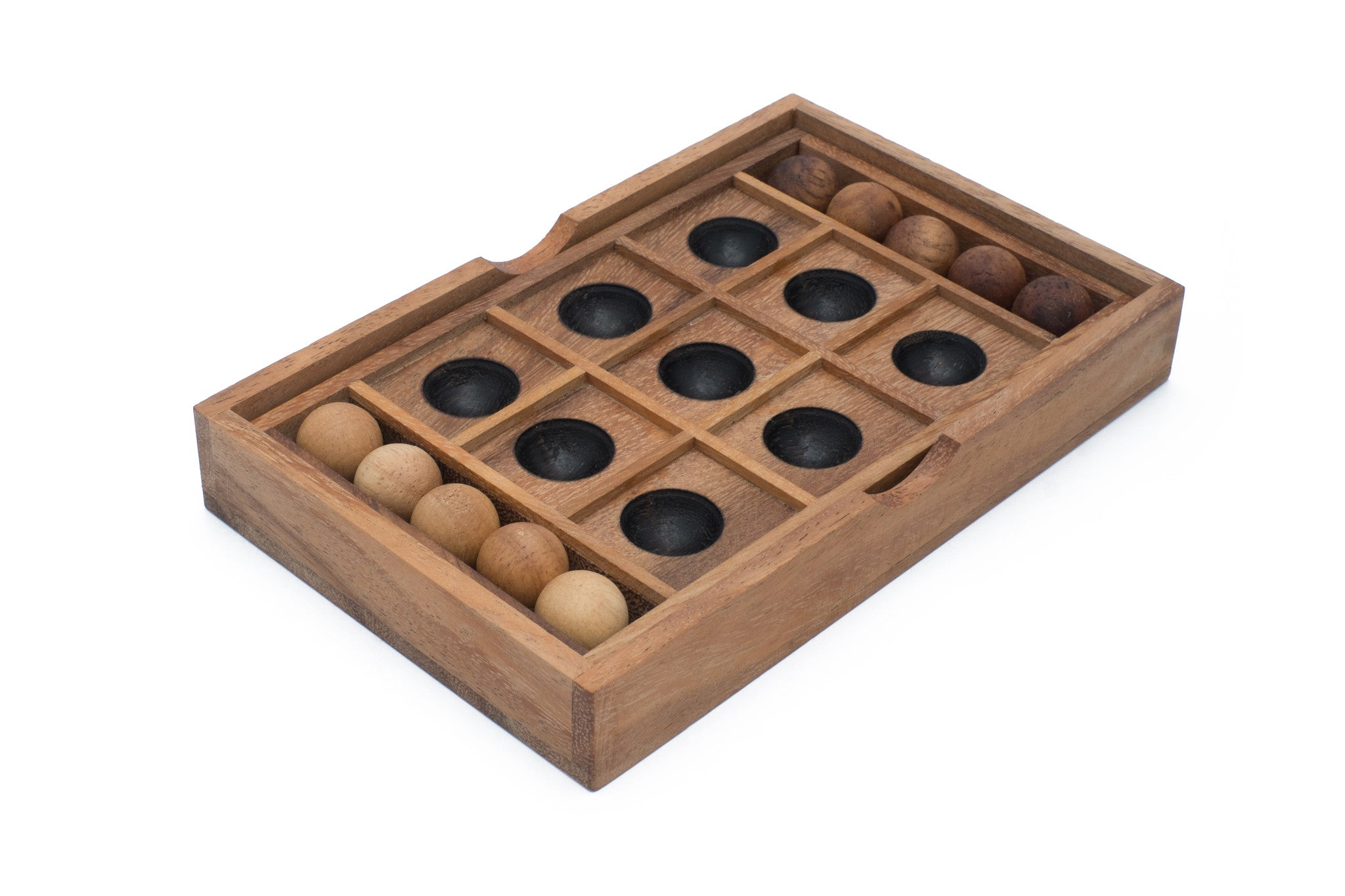 Wooden Tic Tac Toe Set Noughts And Crosses Wooden Game Board