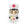 Crazy Head Magnet - Nurse