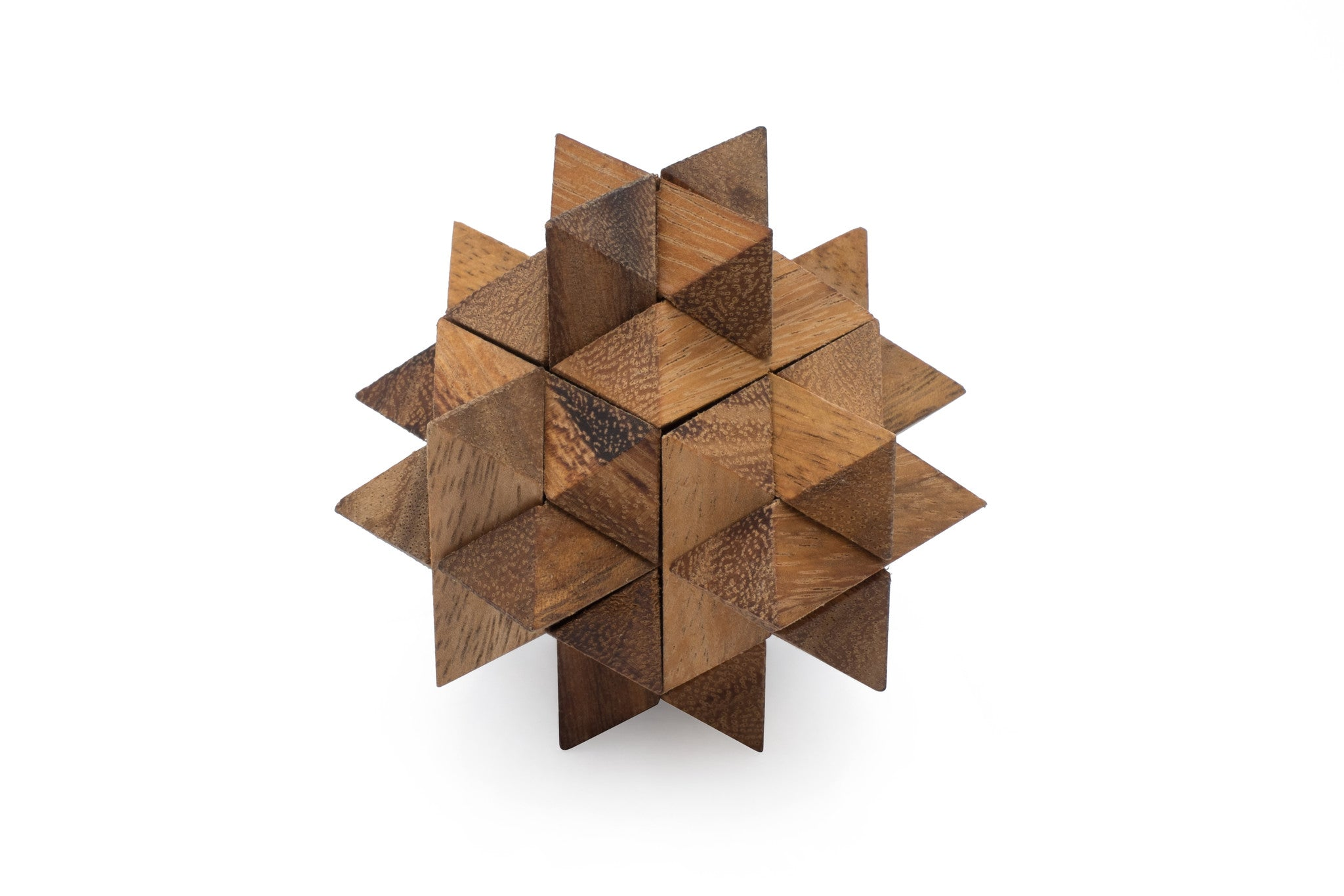 Asterisk 3D Wooden Puzzle With Free Worldwide-4320