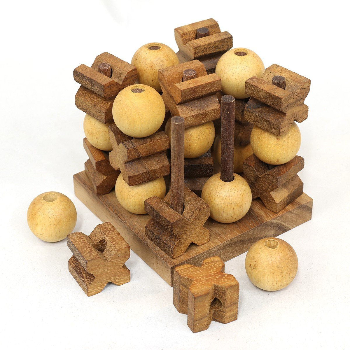 Asterisk 3D Wooden Puzzle With Free Worldwide-3681