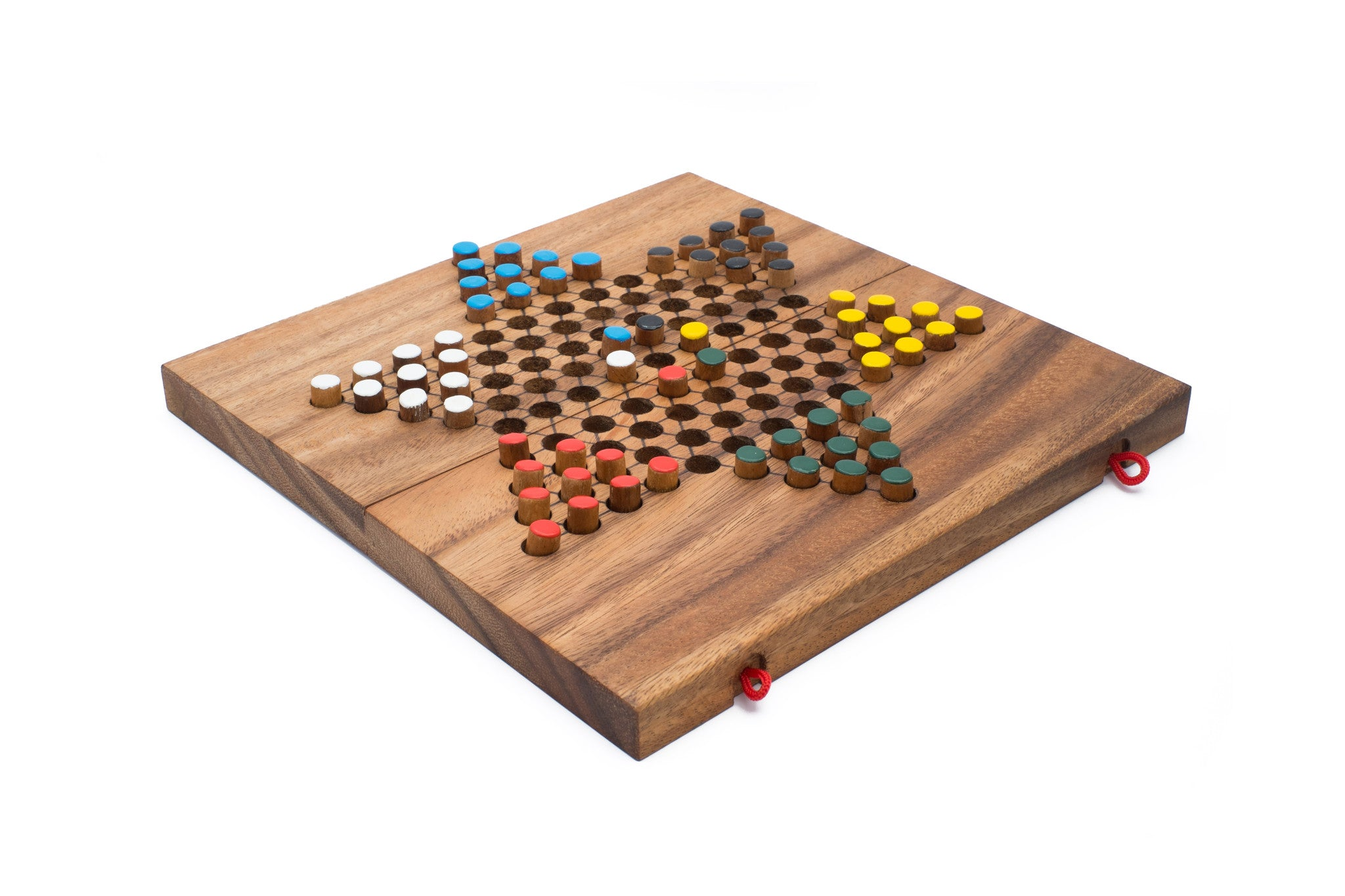 Folding Chinese Checkers