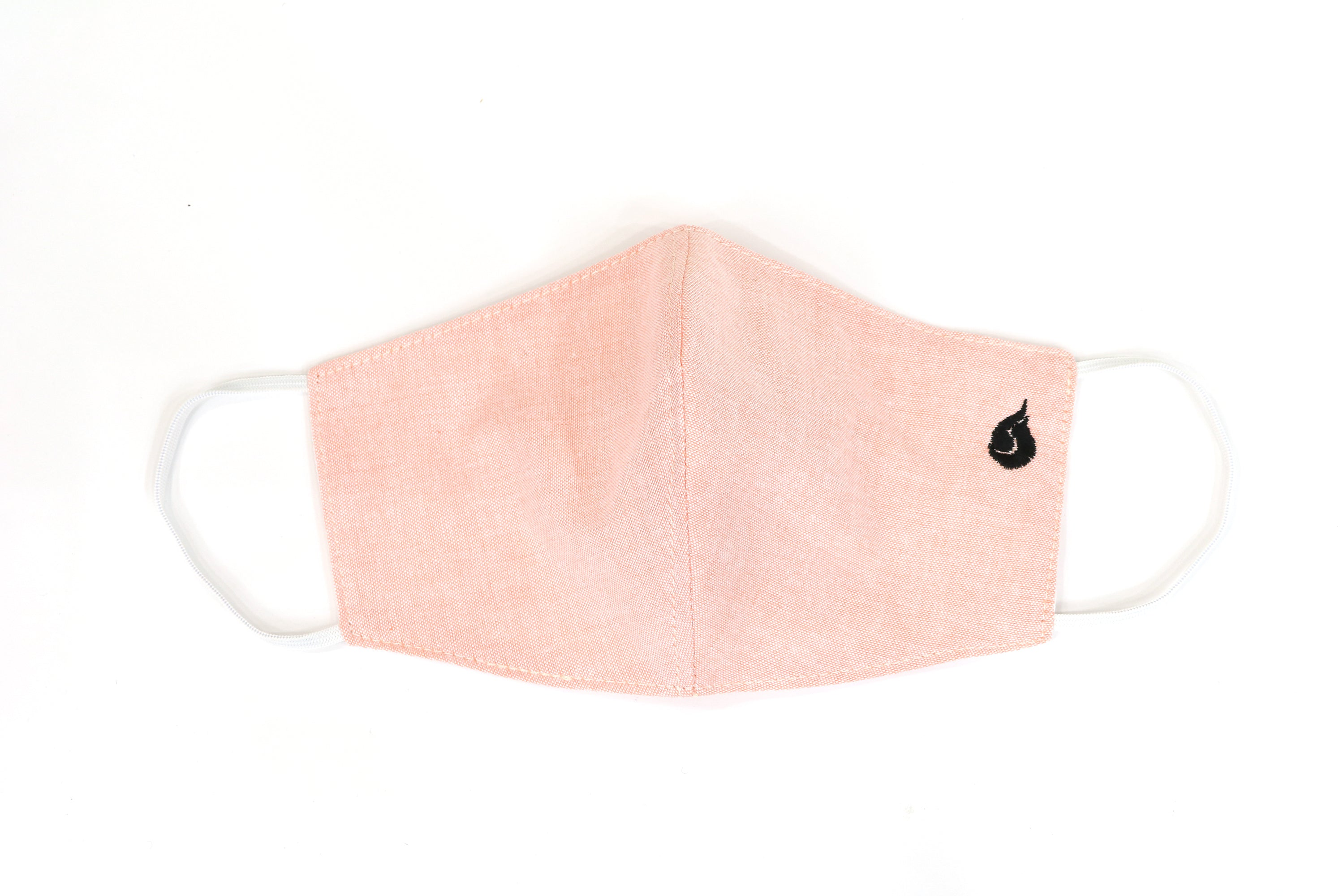 Plain Color Fabric Face Mask - Pink