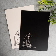 Load image into Gallery viewer, Puppers Continuous Line Print