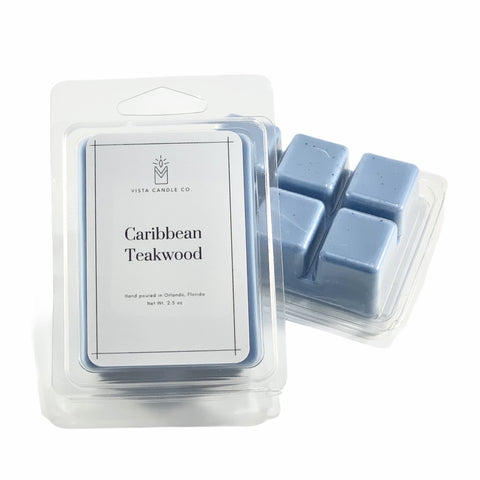 Caribbean Teakwood Wax Melt