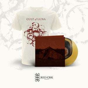 CULT OF LUNA - The Raging River LP Gtfold (Colour in Colour - Black and Beer) + Natural Raw T-Shirt