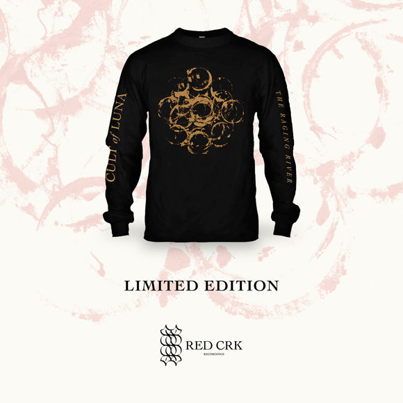 CULT OF LUNA - The Raging River (Black Shirt Long Sleeve)