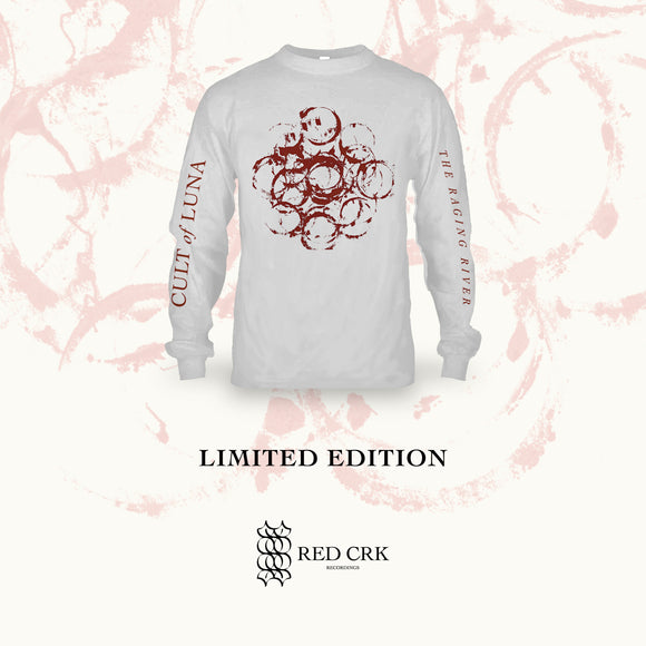 CULT OF LUNA - The Raging River (White Shirt Long Sleeve)