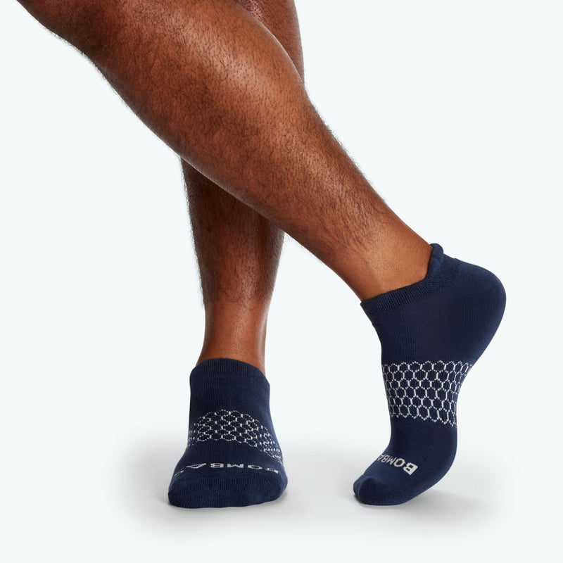 Men's Solids Ankle Sock 4-Pack