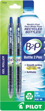 Load image into Gallery viewer, Pilot B2P Retractable pen with Gel Ink. 2pk