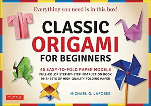 Classic Origami by Michael G. Lafosse (98 Sheets Included)
