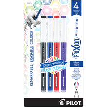 Load image into Gallery viewer, Pilot Frixion Erasable Fineliner 4pk 0.6mm