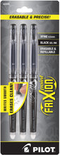 Load image into Gallery viewer, Pilot Frixion Point Erasable Gel Ink Pen 3pk 0.5mm