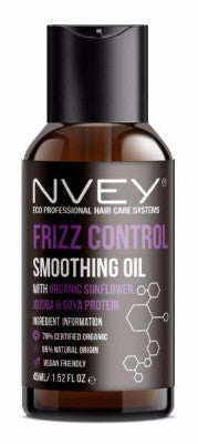 Frizz Control Smoothing Oil - NVEY ECO Organic Cosmetics