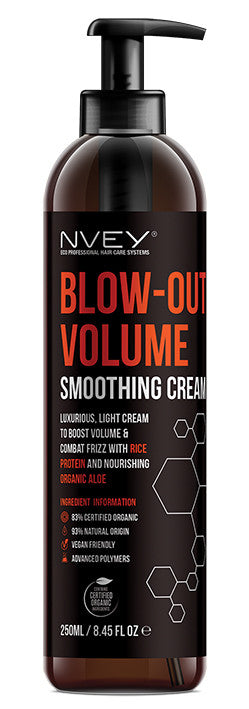 Blow Out Volume Smoothing Cream - NVEY ECO Organic Cosmetics