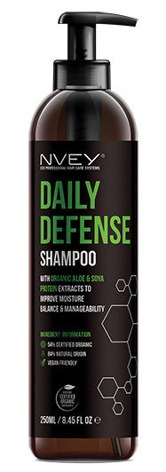 Daily Defense Shampoo - NVEY ECO Organic Cosmetics