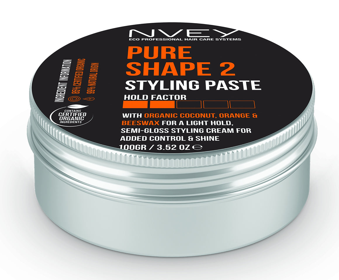 Pure Shape 2 Styling Paste - NVEY ECO Organic Cosmetics