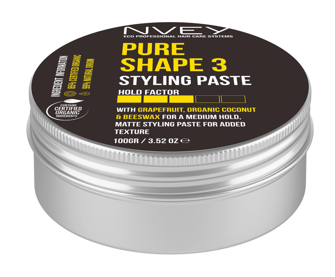 Pure Shape 3 Styling Paste - NVEY ECO Organic Cosmetics