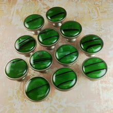 Load image into Gallery viewer, Abstract Forest Green Drawer Knobs