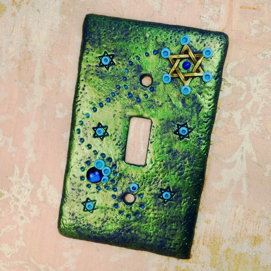 Star of David Switch Plate Cover