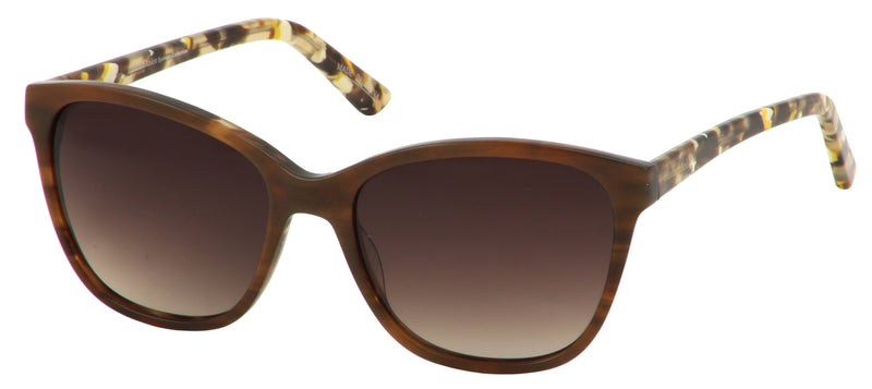 Elizabeth Arden Sun Rx 5253 in Honey/Slate Blue
