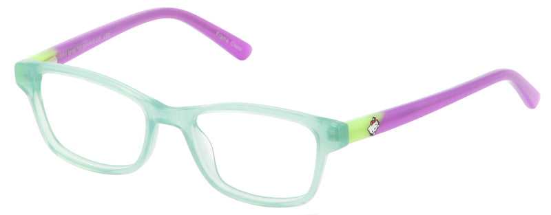 Hello Kitty 293 in Aqua/Beige/Plum