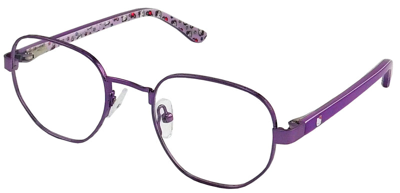 Hello Kitty 332 in Shiny Purple/Shiny Pink/Shiny Teal