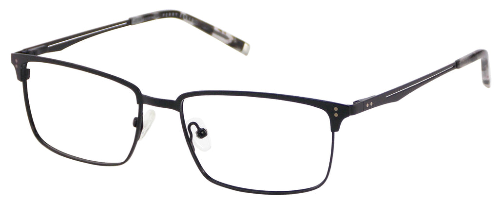 Perry Ellis 373 in Black/ Light Gunmetal