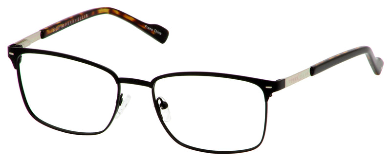 Perry Ellis 399 in Black/Brown/Gunmetal