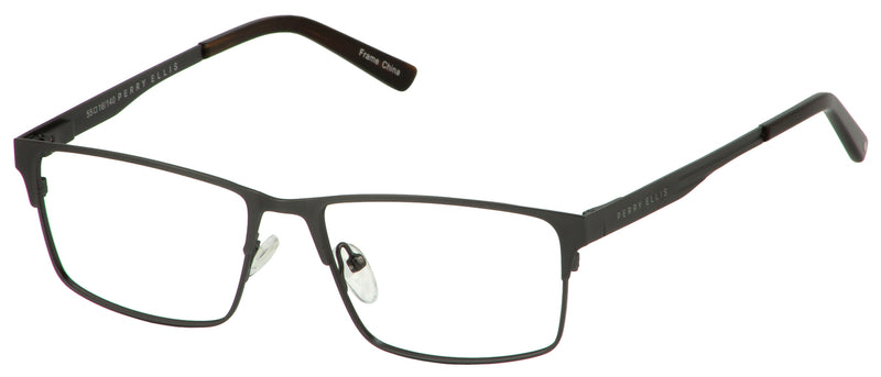 Perry Ellis 413 in Gunmetal /Black/Dark Turquoise