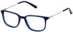 Perry Ellis 423 in Navy/Clear Crystal/Grey Crystal