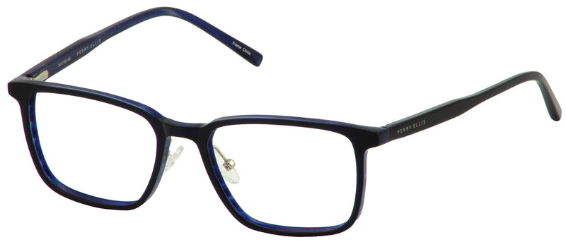 Perry Ellis 424 in Navy/Black/Brown