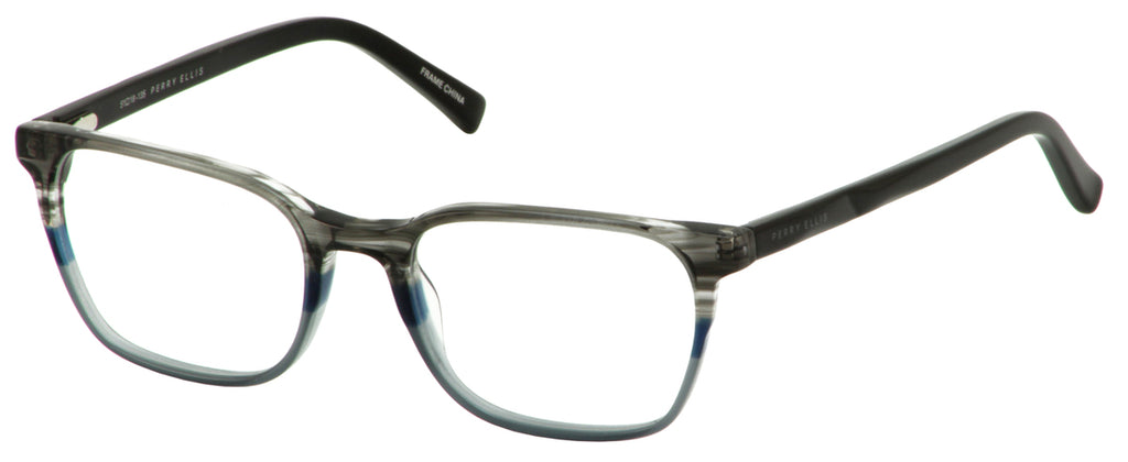 Perry Ellis 432 in Grey/Blk.Tmp./Crystal Navy/Cryst.Green