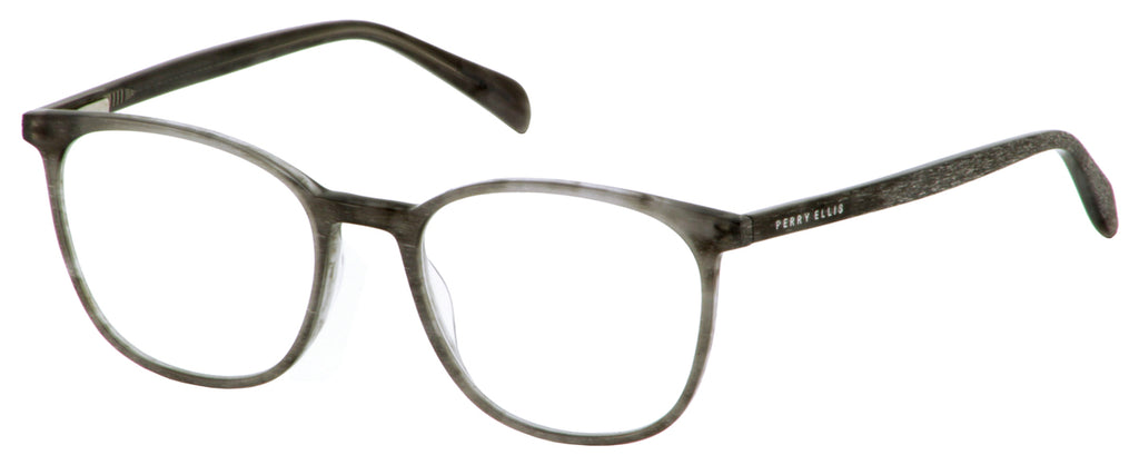 Perry Ellis 433 in Grey Distress/Black Distress/Clear Crystal