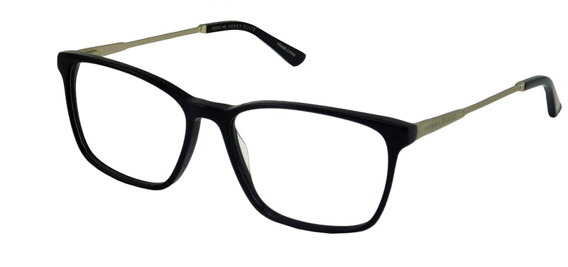 Perry Ellis 434 in Black/Gun/Tort.Gun/Aqua Crystal