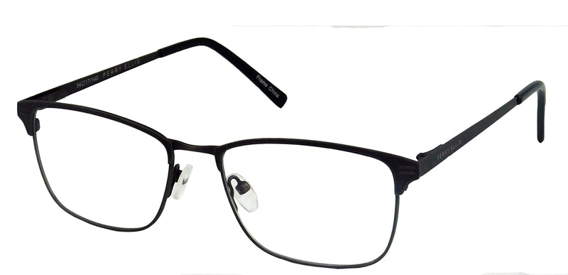 Perry Ellis 438 in Gunmetal/Black/Dark Brown