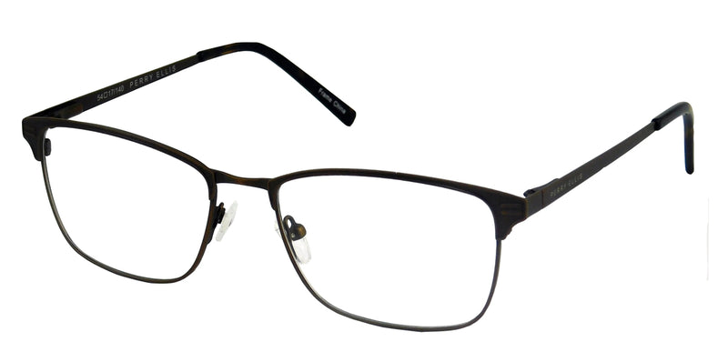 Perry Ellis 438 in Dark Brown/Black/Gunmetal