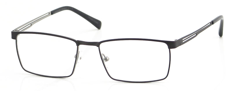 Perry Ellis 441 in Matte Gunmetal/Matte Black/Matte Gold
