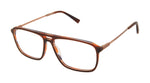 Perry Ellis 445 in Brown Pattern Matte/Black Pattern Matte/Navy Tortoise Matte