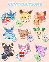 Load image into Gallery viewer, Eeveeultion Keyhcharms - r0cketcat Illustrations
