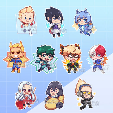 My Hero Academia - r0cketcat Illustrations